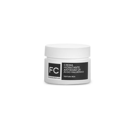 Crema Hidratante Antiedad UV